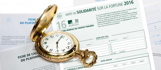 Plus que quelques jours pour déclarer et payer votre impôt de solidarité sur la fortune!