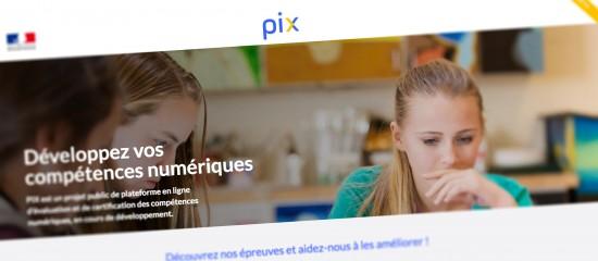Testez vos connaissances numériques sur PIX!