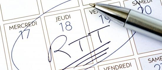 Comment décompter la période d'essai d'un salarié qui prend des jours de RTT?