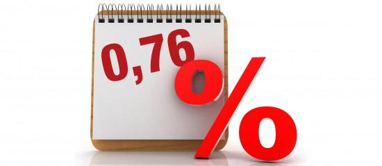 Taux de l'intérêt légal pour le second semestre2021